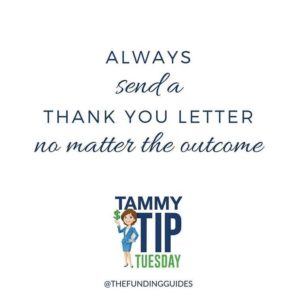 Always Send a Thank You Letter No Matter the Outcome